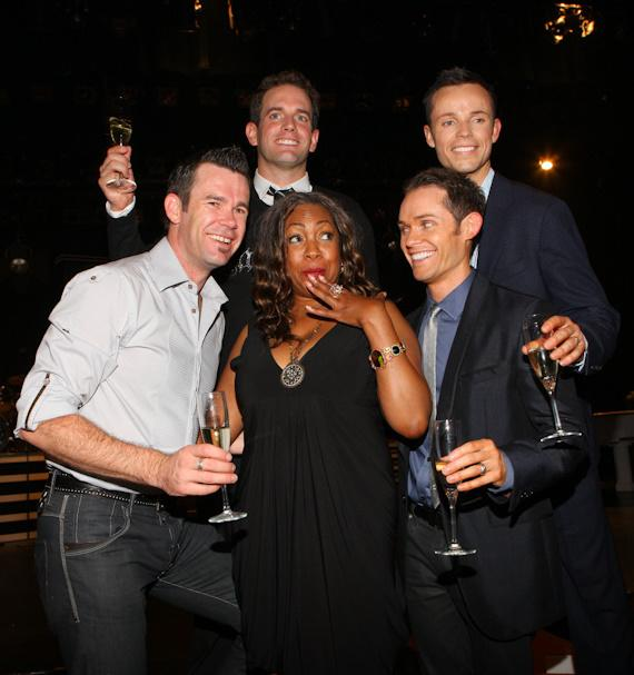 Human Nature after the show with Mary Wilson