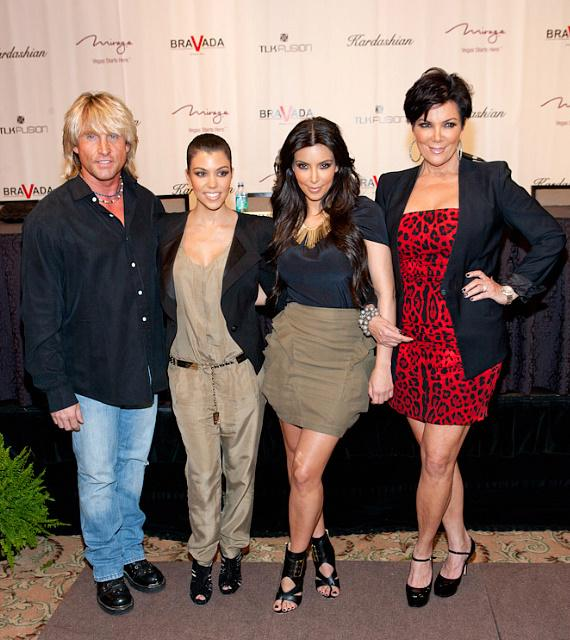 Danny Alex (CEO of BRAVADA International Ltd.), Kourtney, Kim and Kris