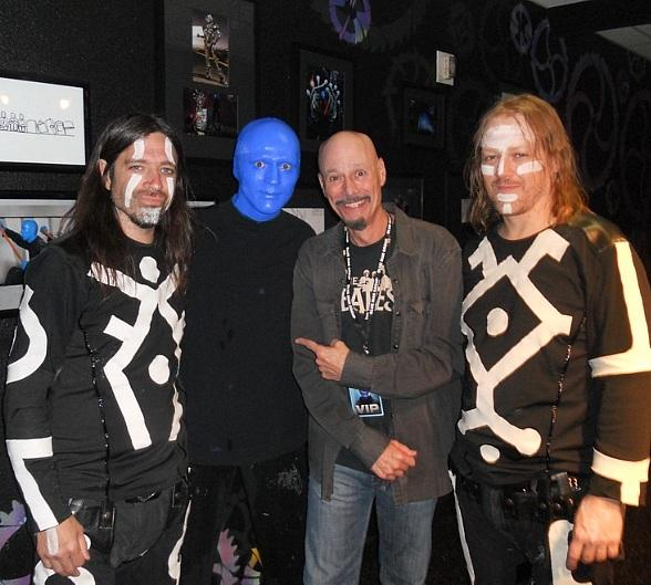 Award-Winning Producer Bob Kulick Attends Blue Man Groupat Monte Carlo Resort and Casino