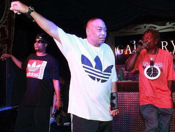 2 Live Crew with Flavor Flav at Gallery Nightclub