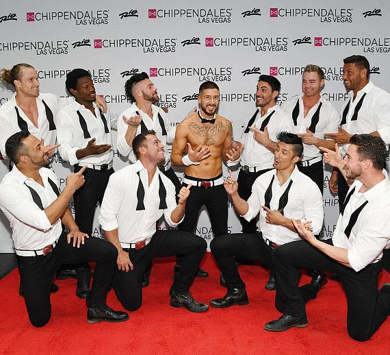 """Jersey Shore"" Star Vinny Guadagnino (""Vinny G."") Makes Fist-Pumping Debut as Chippendales Celebrity Guest Host at Rio All-Suite Hotel & Casino in Las Vegas"