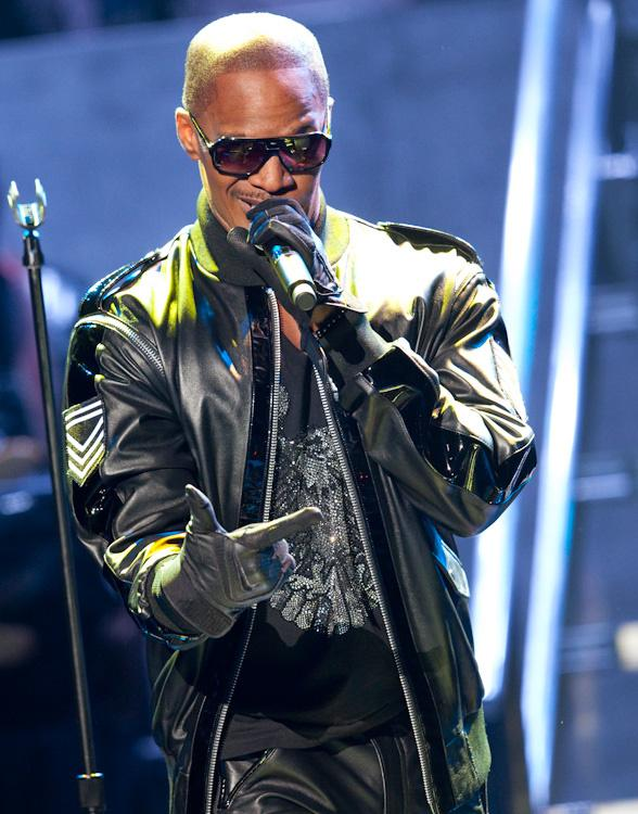 Jamie Foxx performs at The Joint at The Hard Rock Hotel