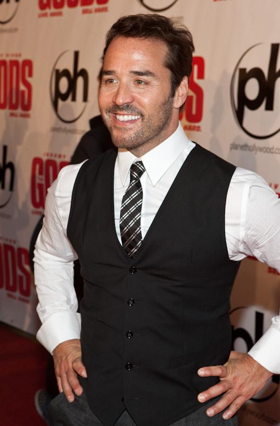 Jeremy Piven at The Goods: Live Hard, Sell Hard Premier at Planet Hollywood