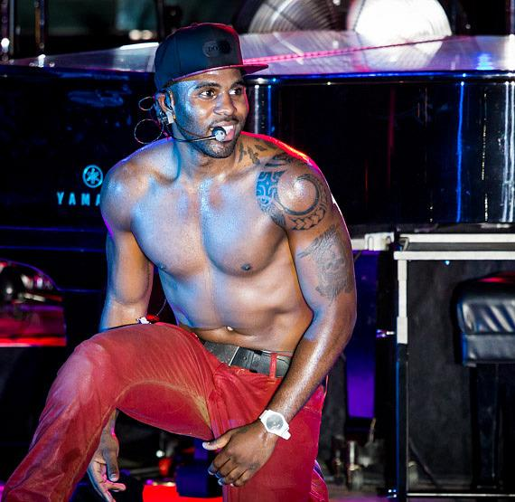 Jason Derulo  performs at Boulevard Pool at The Cosmopolitan of Las Vegas