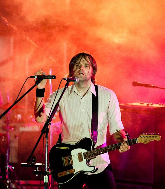 Death Cab For Cutie performs at The Boulevard Pool at The Cosmopolitan of Las Vegas
