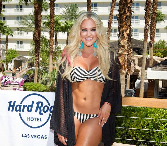 Lacey Schwimmer at REVEL Pool Party at Hard Rock Hotel in Las Vegas