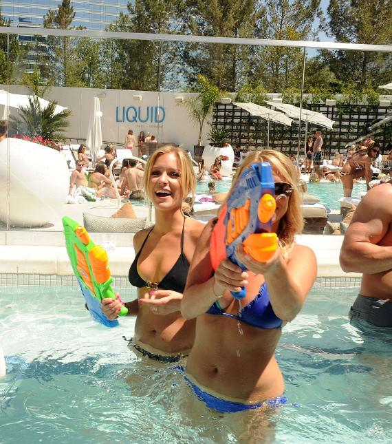 'The Hills' Star Kristin Cavallari hosts Liquid Pool Lounge at Aria Resort & Casino