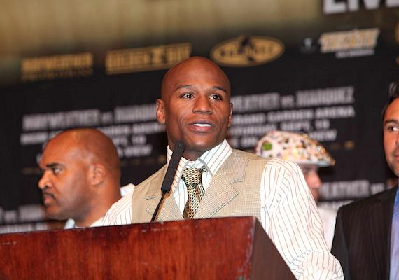 Mayweather vs. Marquez post-fight press conference