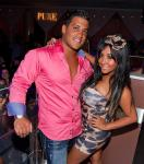 "Nicole ""Snooki"" Polizzi and boyfriend Jionni LaValle hosts at PURE Nightclub"