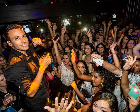Howie Dorough at Backstreet Boys Official Concert After Party at Body English