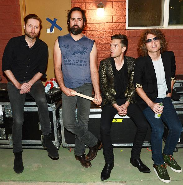 The Killers Perform a Surprise Show at The Bunkhouse after T-Mobile Opening
