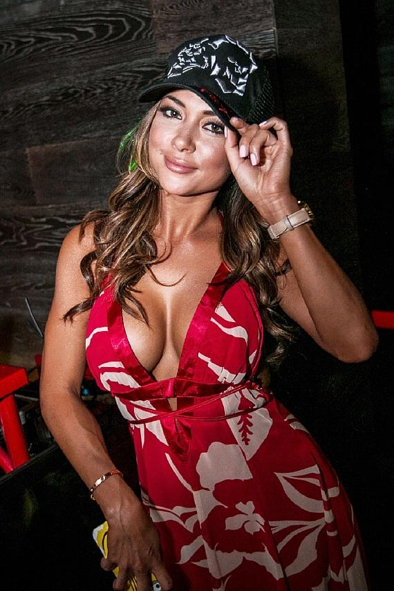Arianny Celeste in the DJ Booth at Tacos & Tequila