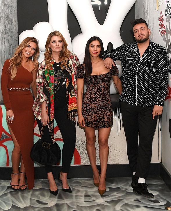 Audrina Patridge, Mischa Barton, Jennifer Delgado, Frankie Delgado, Scheana Shay and More at Greene St Kitchen Grand Opening at PALMS