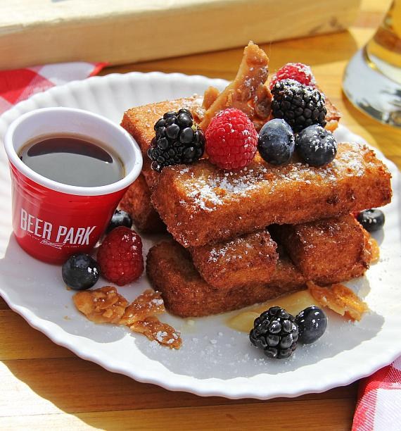 BEER PARK French Toast Sticks