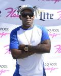 Coolio arrives at the Flamingo GO Pool