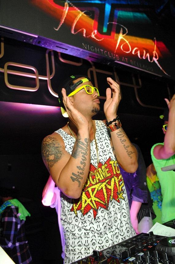 """Sky Blu of LMFAO kicks off """"Who Came to Party?"""" residency at The Bank"""