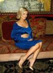 Holly Madison shows off her baby bump at House of Blues