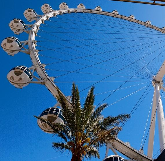 The High Roller Observation Wheel at The LINQ