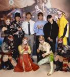 BTS, Jeannie Mai and Zendaya Visit Cirque du Soleil Shows