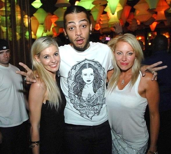 Travie McCoy performs at Blush Boutique Nightclub