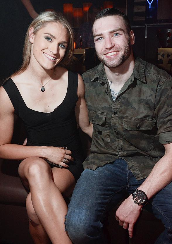 """Brian """"The Mantis"""" Camozzi Hosts Fight Night After-Party at Hyde Bellagio in Las Vegas"""