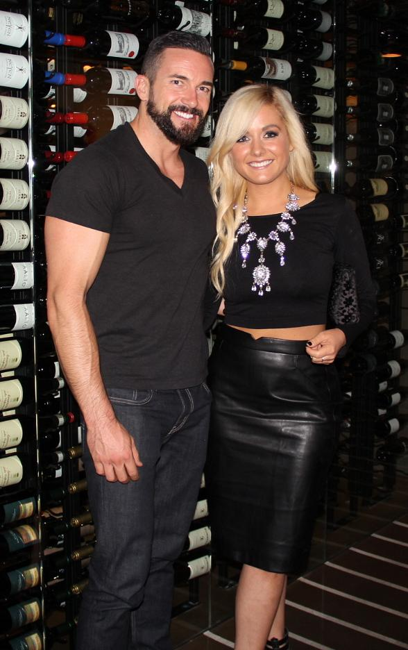 """ABC's """"Bachelor in Paradise 2"""" Stars, Carly Waddell and Dan Cox, Host Premiere Party at Chateau Nightclub & Rooftop at Paris Las Vegas"""