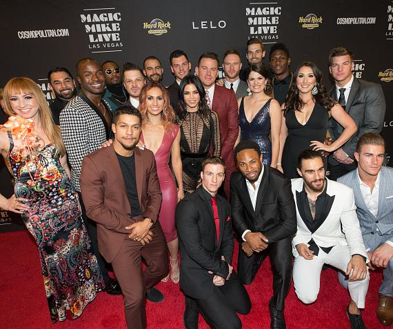 """Magic Mike Live Las Vegas"" Celebrates Opening Night with a Star-Studded Performance at Hard Rock Hotel & Casino"