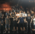 Cast and Crew of MML Celebrate 100th Performance