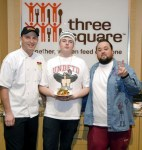 Nacho Daddy Donates 110,000 Meals to Three Square with Help from Chumlee and Terry Fator