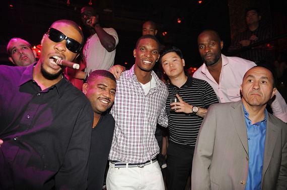 Chris Bosh and friends at TAO