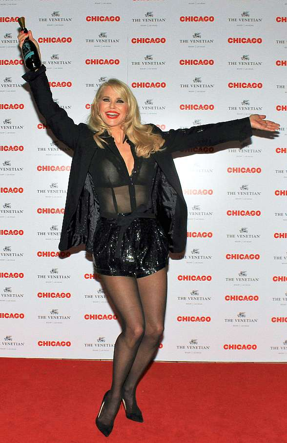 """Chicago the Musical"" Celebrates Opening Night at The Venetian Las Vegas April 10 Starring Legendary Supermodel and Actress Christie Brinkley"