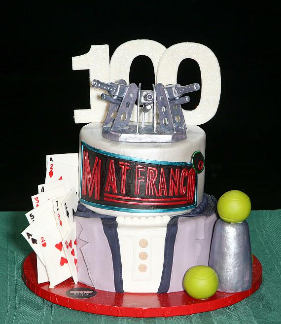 100th Performance Cake Designed by Showboy BakeShop