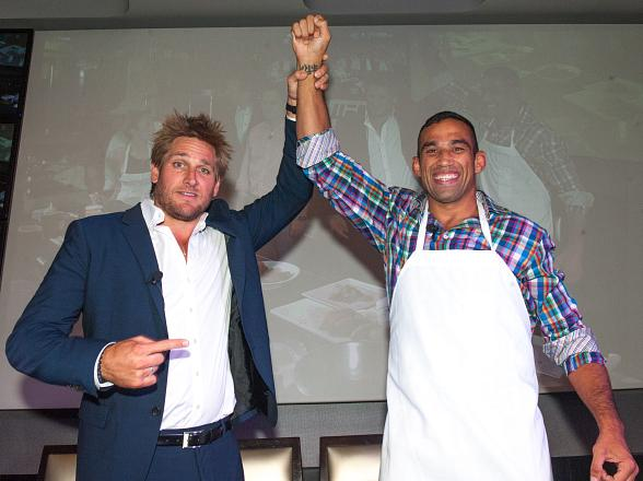 UFC Heavyweight Champion Fabricio Werdum Wins First-Ever UFC Ultimate Cookoff at Lagasse's Stadium at The Palazzo Las Vegas
