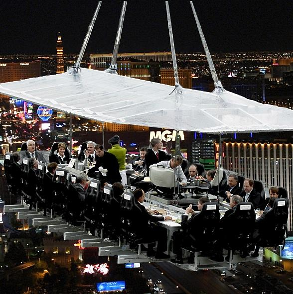 Dinner In The Sky Las Vegas to Bring Unmatched Aerial Dining Experience to Las Vegas Strip
