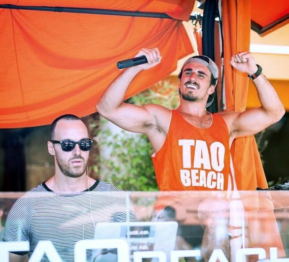 DJ Javier Alba hosts Booty Beach at Tao Beach