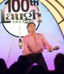 71-yr old juggler Nino Frediani came out of retirement to perform in Murray's 100th show