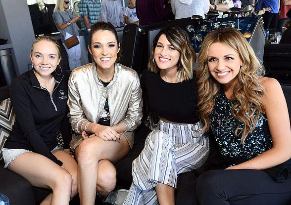 """Country Artists Compete in """"ACM Lifting Lives Topgolf Tee-Off"""" in Las Vegas"""