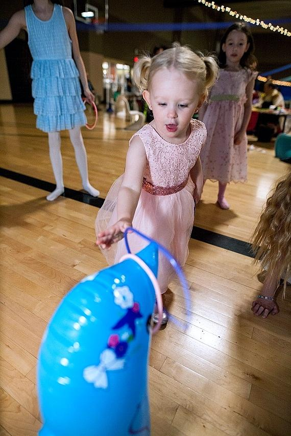 Life Time Athletic Green Valley Hosts Daddy Daughter Dance