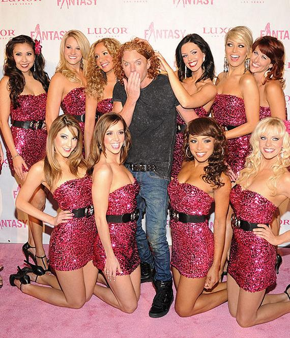 "Carrot Top at ""Ultimate FANTASY"" calendar party in Rice & Company at Luxor"