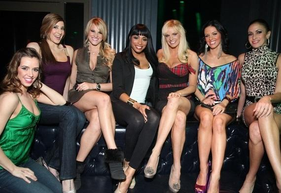 FANTASY ladies at their VIP table at Chateau Nightclub & Gardens