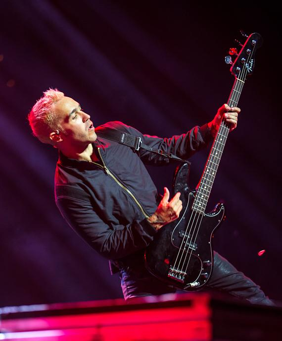 Fall Out Boy perform at Mandalay Bay Events Center
