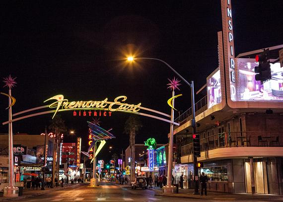 Inspire at Fremont St. and Las Vegas Blvd.