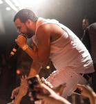 French Montana performs at Marquee Nightclub