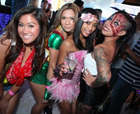 """Ghostbar at Palms Casino Resort Hosts """"Day and Night of the Killer Costumes"""" Halloween Party"""
