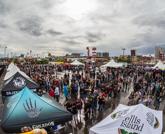 Great Vegas Festival of Beer breaks boundaries with record-breaking attendance for sixth annual festival