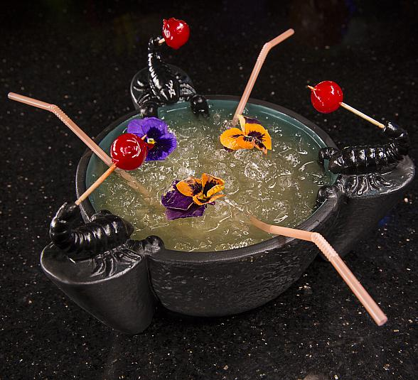 """The Golden Tiki """"Share-A-Bowl"""" Valentine's Day Deal"""