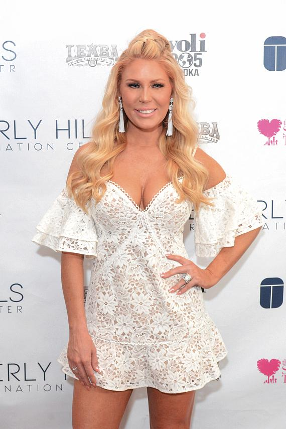 Gretchen Rossi at Beverly Hills Rejuvenation Center Downtown Summerlin's Grand Opening Event