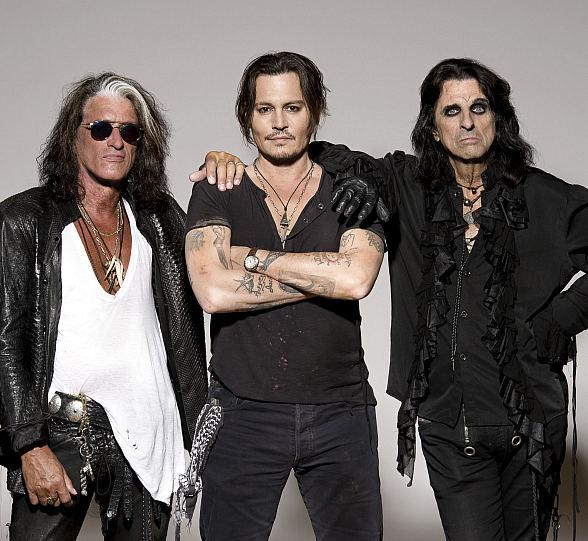 The Hollywood Vampires FeaturingAlice Cooper,Joe Perry, andJohnny Depp to Perform at The Joint at Hard Rock Hotel & Casino May 10