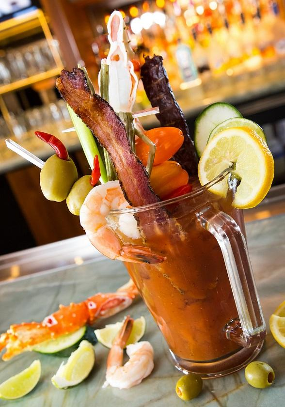 Strip-Side Views and Bottomless Booze for Spring Breakers at HEXX Kitchen + Bar