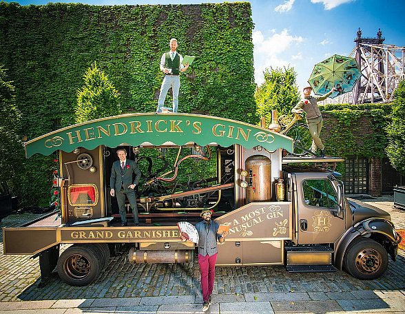 Hendrick's Gin Brings its Cucumber-Slicing Truck (The Grand Garnisher) to Bonefish Grill July 12